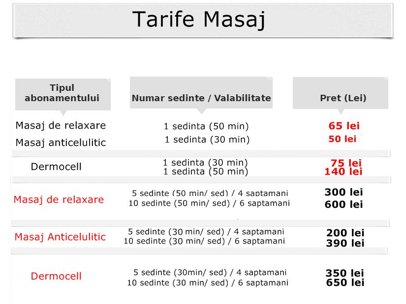 Tarife-Masaj1